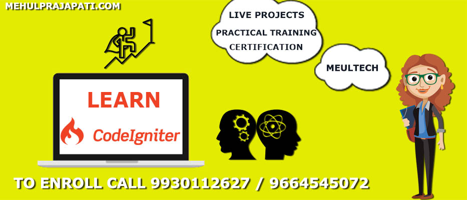 Codeigniter Training Course In Mumbai Code Igniter Mvc Training