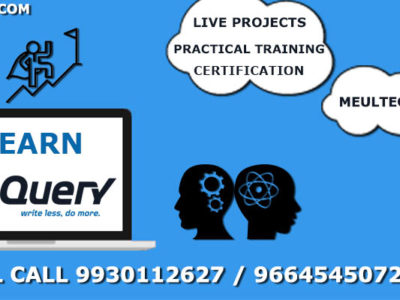 jQuery Tutorial With Examples Course In Mumbai